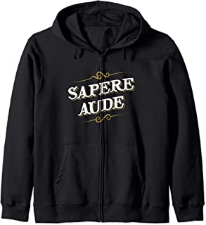 Immanuel Kant - Sapere Aude - Design for Philosophers Zip Hoodie