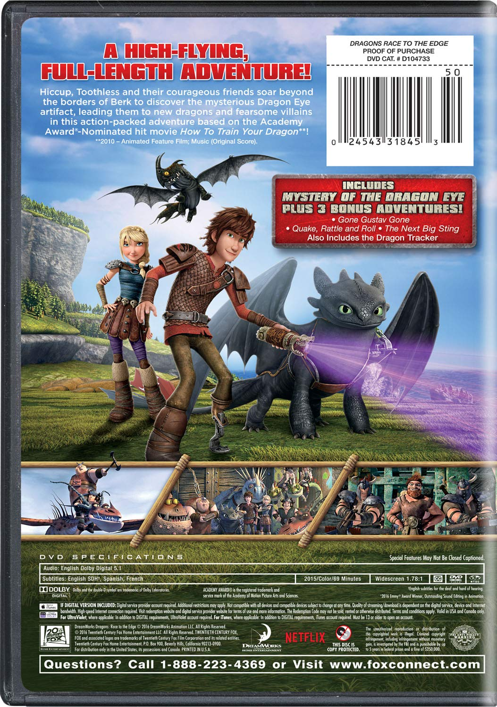 Dragons Race to the Edge: Mystery Of The Dragon Eye: Amazon.de