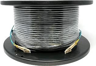 RiteAV - Direct Burial/Outdoor LC-LC 2-Strand Fiber Optic Cable - OM3 Multimode (50/125) - 300M (984ft)