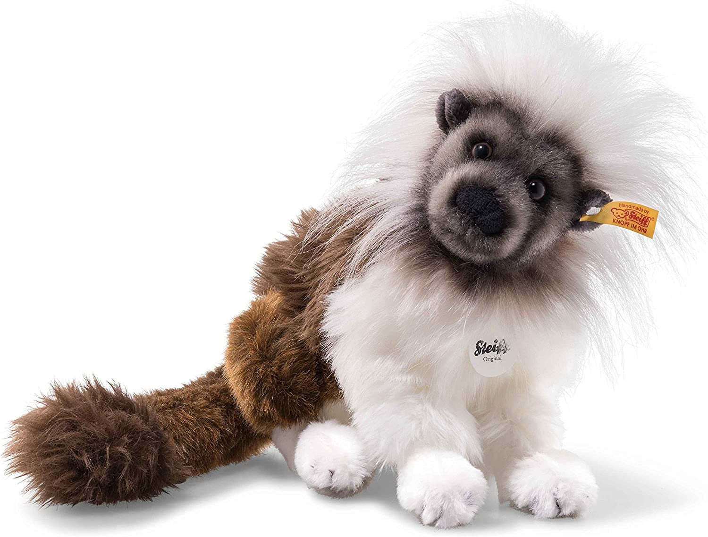 Steiff 062193 Monkey, Brown White Grey, 23 cm