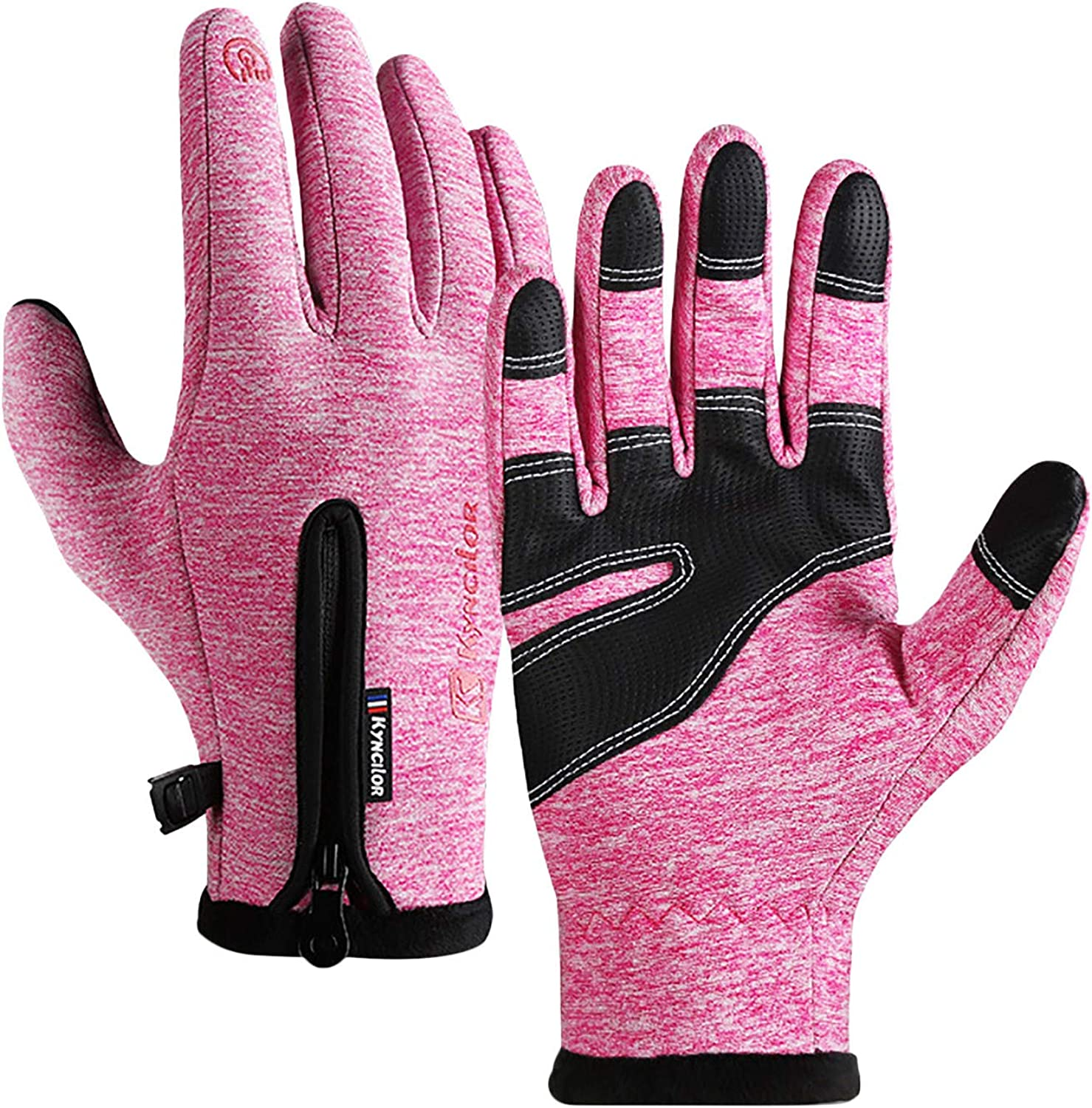 Jan STORE Winter Gloves for Men and Women Waterproof Touch Screen Glove Cycling