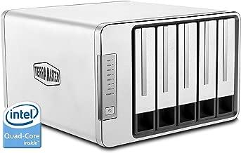 TerraMaster F5-420 NAS 5Bay Cloud Storage Server Intel Quad-Core 2.0GHz Network RAID Storage (Diskless)