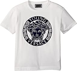 Short Sleeve Medusa Logo T-Shirt (Toddler/Little Kids)