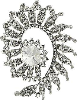 Floral Swirl Pin