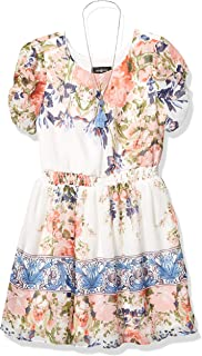 فستان Amy Byer بحزام خصر مكشكش