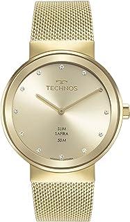 Relógio Technos Feminino Slim Dourado - 1L22WM/1X