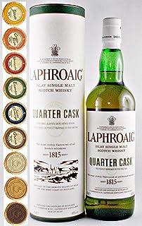 Laphroaig Quarter Cask Islay Single Malt Whisky  9 Edel Schokoladen in 9 Sorten
