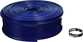 Blue Devil 100-Foot Backwash Hose for Pool with Hose Clamp, 2