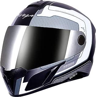 Vega Evo BT Armour Dull Black Silver Helmet- L