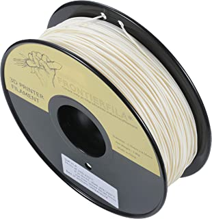 Filament d'impression 3D FrontierFila Soft PLA blanc 1,75 mm 1 kg