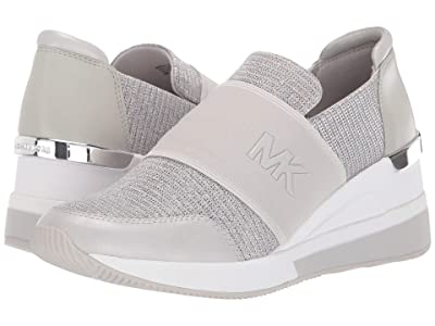 MICHAEL Michael Kors Felix Trainer (Milk) Women