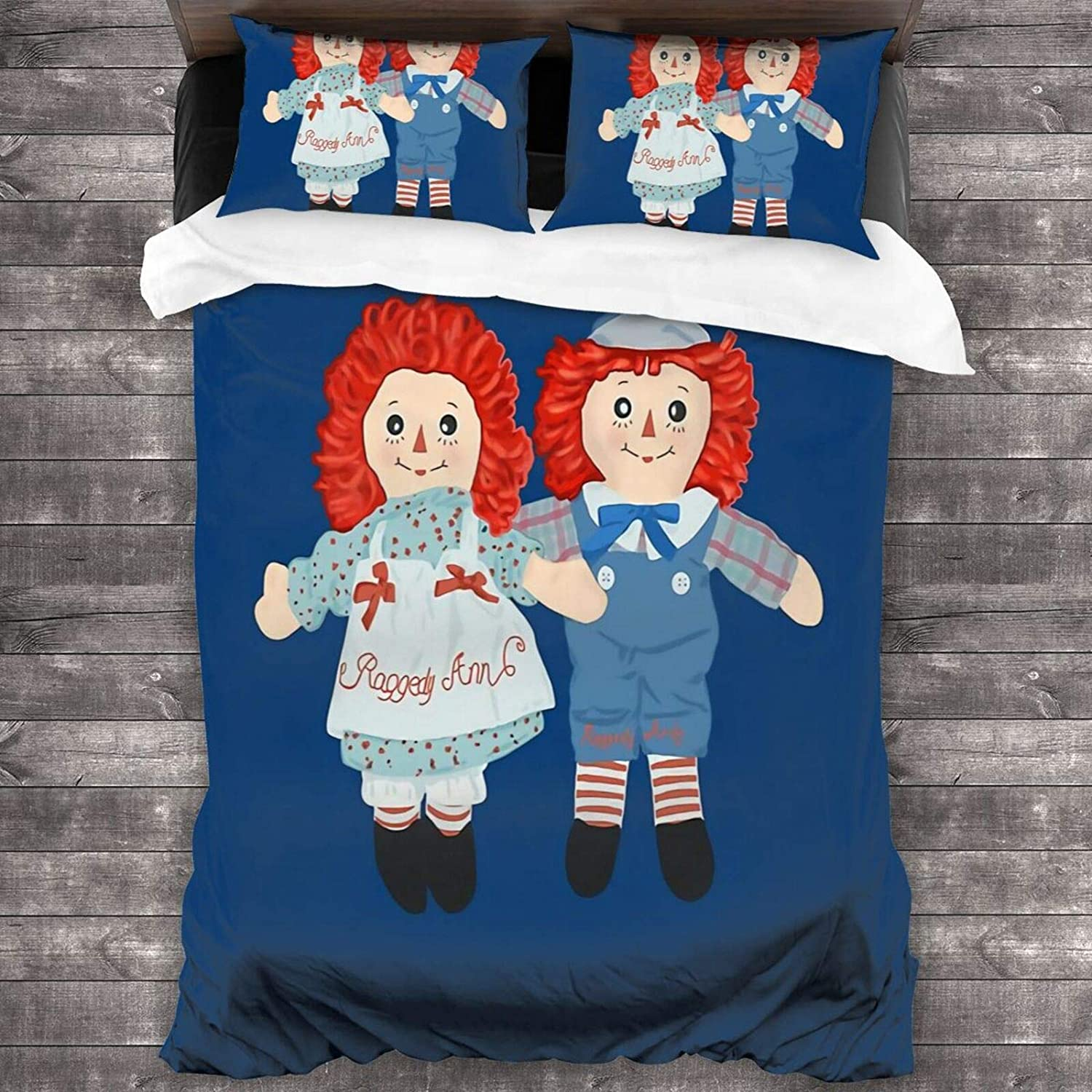 Needlove Raggedy Ann and Andy shopping Comforter Bedding Quilt Latest item Se