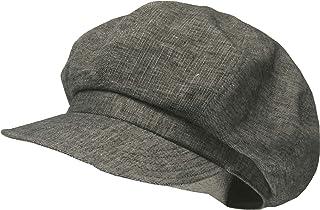 [ろしなんて工房] 帽子 キャスケット SP357 綿麻トップ403 大きいサイズOK [日本製]