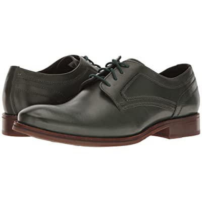 Rockport Wyat Plain Toe (Darkest Spruce Leather) Men