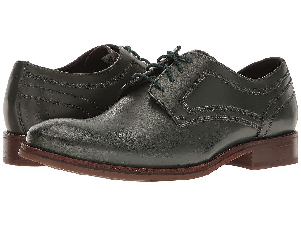 Rockport Wyat Plain Toe (Darkest Spruce Leather) Men
