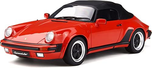 Otto Porsche 911 3.2 Speedster Guards rot Modellauto GT130 1 18