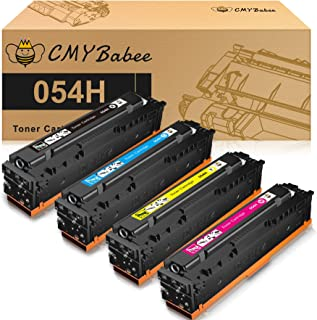CMYBabee Compatible Toner Cartridge for Canon 054 054H CRG-054 High Yield for Canon imageCLASS LBP622Cdw MF644Cdw MF642Cdw...