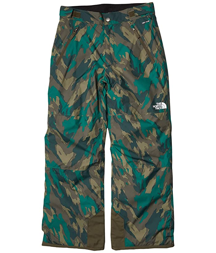 Freedom Insulated Pants (Little Kids/Big Kids) Evergreen Mountain Camo Print