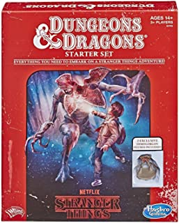Hasbro Gaming Stranger Things Dungeons & Dragons Roleplaying Game Starter Set