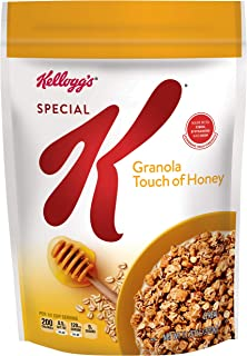 Kellogg's Special K, Granola, Touch of Honey, Breakfast Cereal, Low Fat, 11.3oz Bag