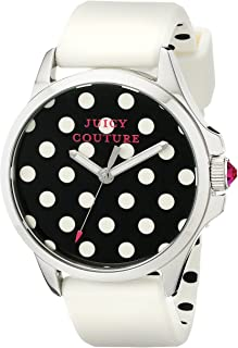Juicy Couture Women's 1901221 Jetsetter Analog Display Quartz White Watch