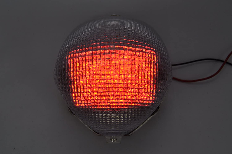 Topzone Lightings 期間限定 LED 新作 Smoke Motorcycle Brake Taillights Tail Lig