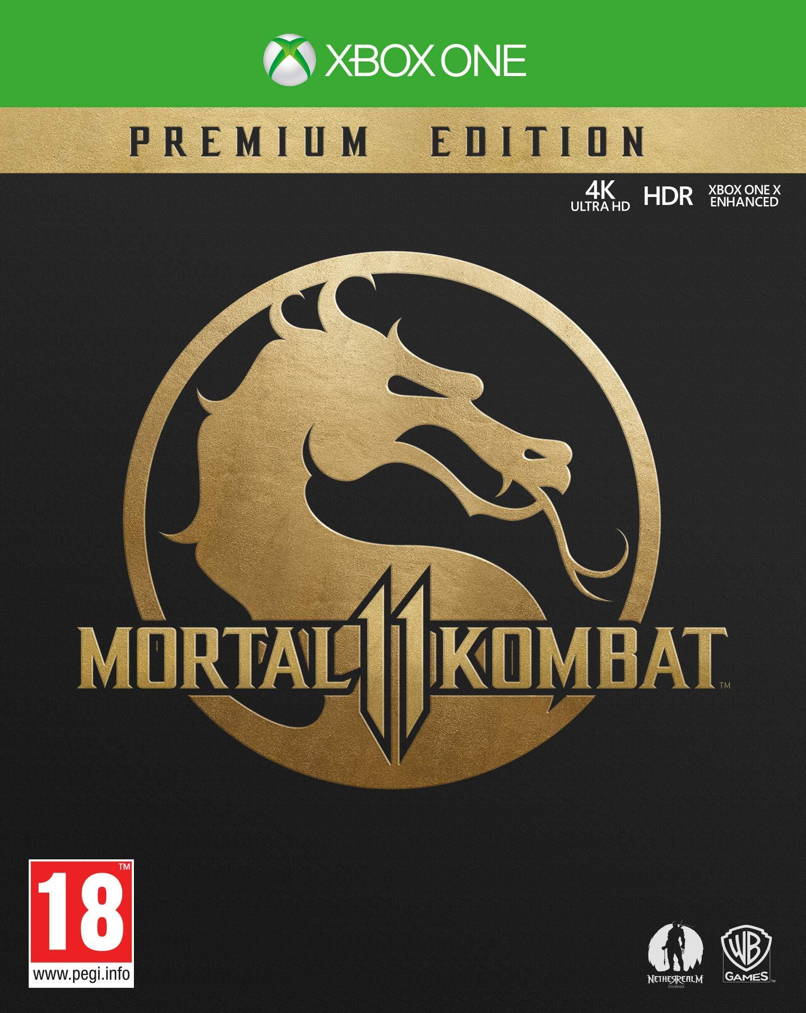 Mortal Kombat 11 Premium Collection - Xbox One [Importación ...