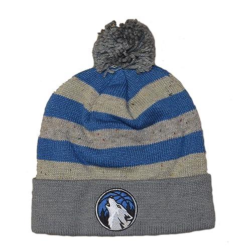 Mitchell   Ness NBA Speckled Oatmeal Knit Hat with POM POM daa77fbf3ad
