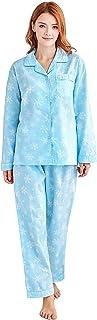 Women's 100% Cotton Pajamas, Long Sleeve Woven Pj Set Sleepwear from Tony & Candice