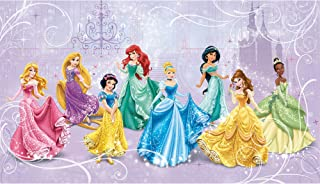 RoomMates Disney Princess Royal Debut Removable Wall Mural - 10.5 feet X 6 feet