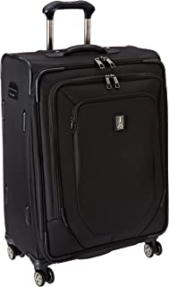 Crew 10 25 Inch Expandable Spinner Suiter, Black, One Size