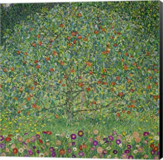 Apple Tree I, 1912 by Gustav Klimt Canvas Art Wall Picture, Museum Wrapped with Black Sides, 18 x 18 inches