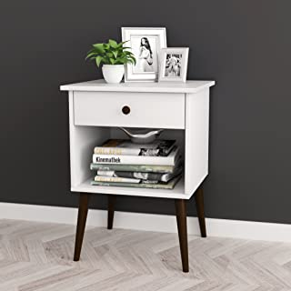 Best brown bed white nightstand Reviews