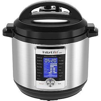 Instant Pot Ultra 10-in-1 Electric Pressure Cooker, Slow Cooker, Rice Cooker, Steamer, Saute, Yogurt Maker, Cake Maker, Egg Cooker, Sterilizer, and Warmer, 8 Quart, 16 One-Touch Programs