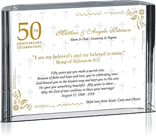 Best 50th wedding anniversary gift for parents Reviews