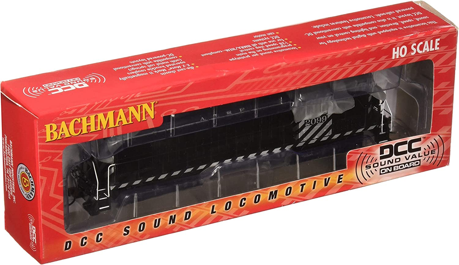 Bachmann Industries Santa Fe ALCO RS3 Diesel Locomotive