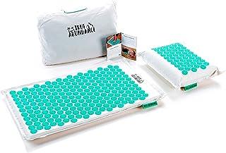 True Abundance - Esterilla de acupresión para eliminar tensiones por fin (incluye bolsa de transporte)
