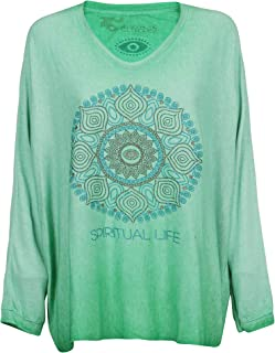 Luxury Fashion | Au Soleil St Tropez Womens TSZENSPIGREEN Green T-Shirt | Spring-Summer 19