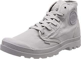 Palladium Men's Us Pampa High H Hi-Top Trainers, Grey (Vapor 762), 8 UK