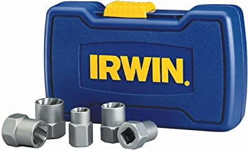 IRWIN HANSON BOLT-GRIP Bolt Extractor Base Set, 5 Piece, 394001