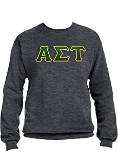 Alpha Sigma Tau Sweatshirt with Greek Letters