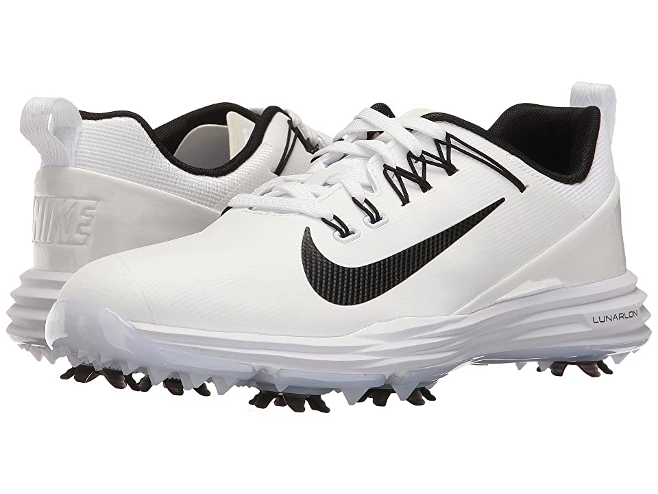 Nike Golf Lunar Command 2 (White/Black/White) Women's Golf Shoes