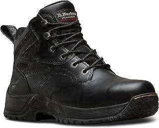 Dr. Martens DM Docs Torness ST S1P Steel Toe Cap Black Leather Safety Boots PPE