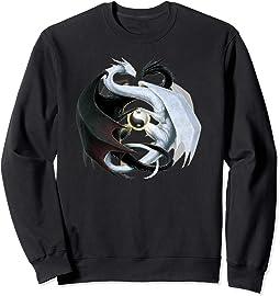 Yin & Yang Dragon Sweatshirt