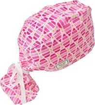 Blue Sky Scrubs Fusion Pink Pony Scrub Hat