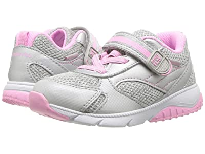 Stride Rite M2P Indy (Toddler) (Silver) Girls Shoes