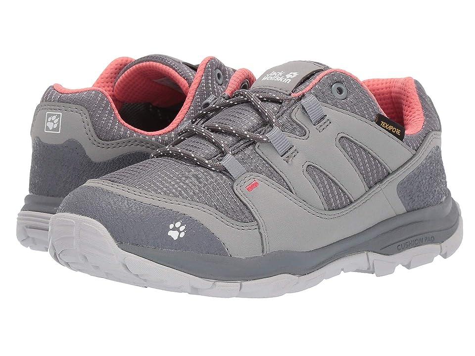Jack Wolfskin Kids Mountain Attack 3 Texapore Low (Toddler/Little Kid/Big Kid) (Titanium) Girls Shoes
