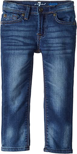 7 For All Mankind Kids Slimmy Jeans in Heritage Blue (Toddler)