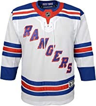 NHL by Outerstuff Youth New York Rangers Away White Premier Jersey