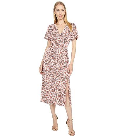 Madewell Clara Midi Dress in Falling Daisies